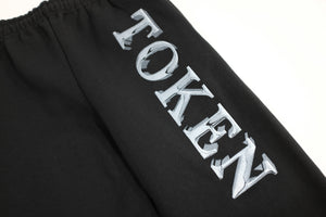 TOKEN / TOKEN CHROME LOGO SWEAT PANTS