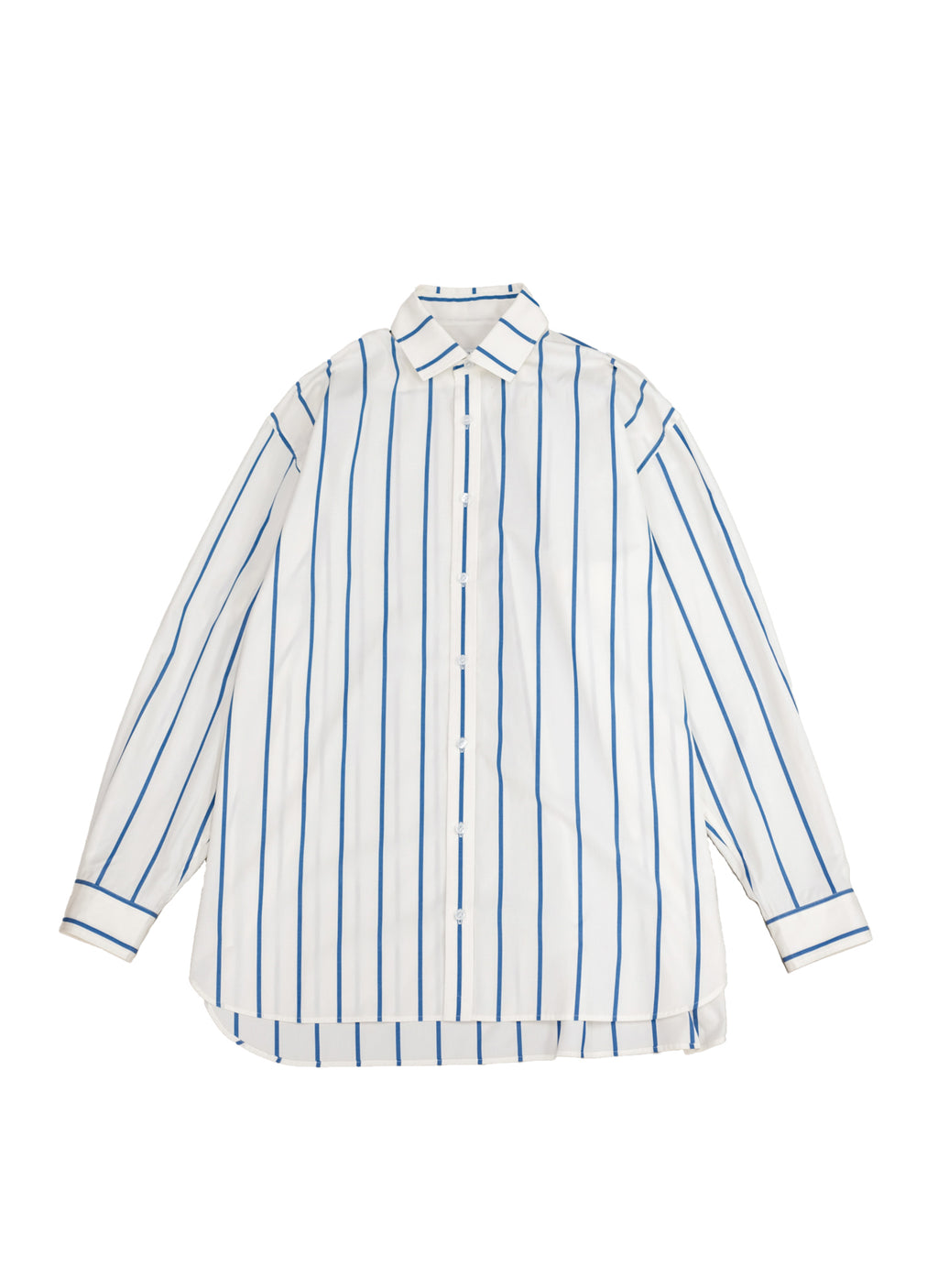 WILLY CHAVARRIA / BIG WILLY DRESS SHIRT STRIPE OFF WHITE