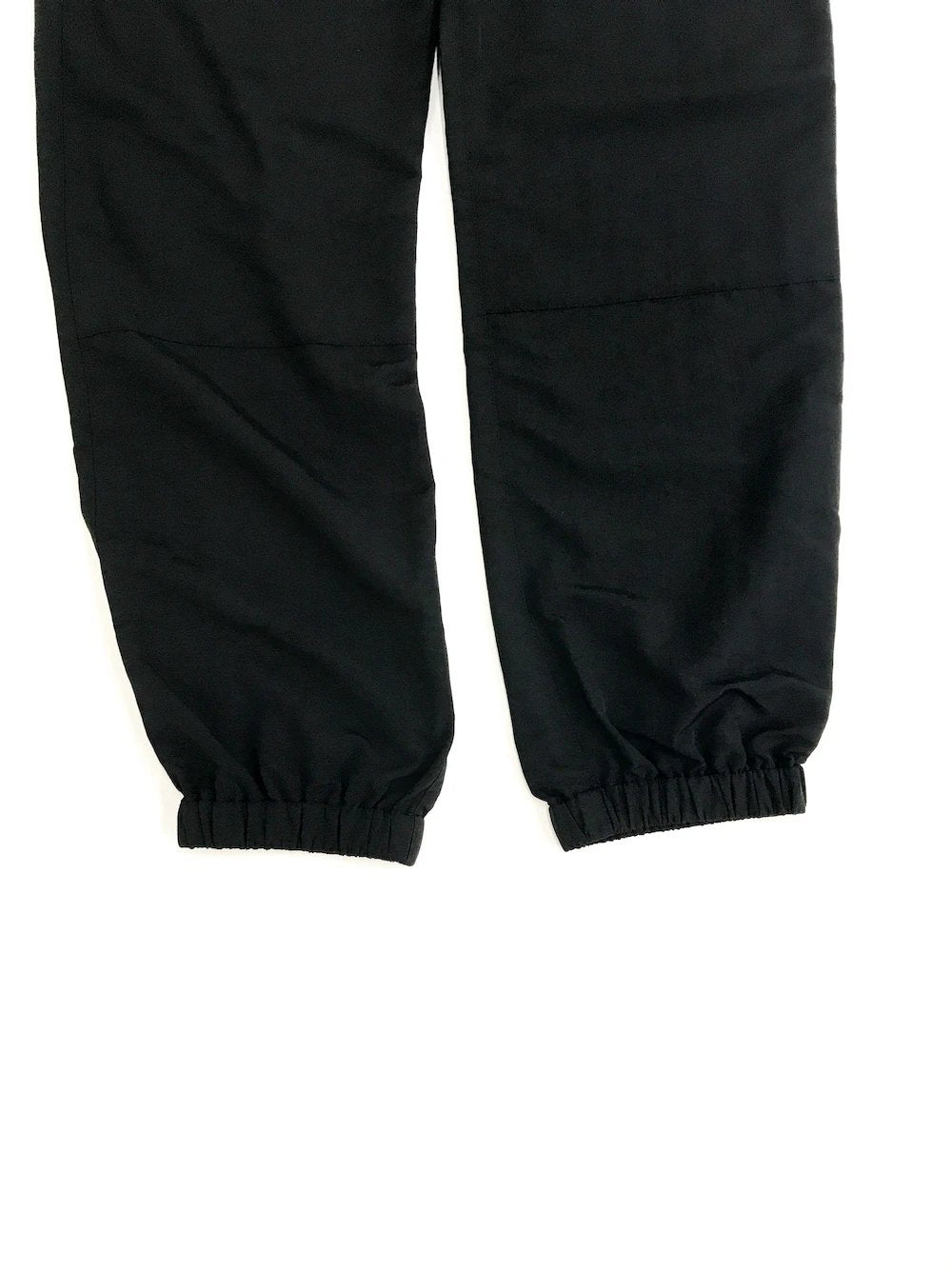 GREI new york (グレイ) / TRACK PANTS 4-PLY DWR FINISH BLACK。リブ画像。