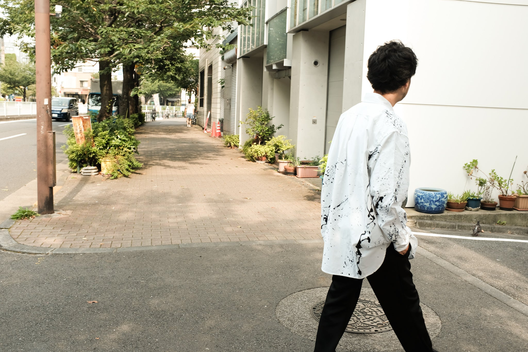 【CCTB別注】WILLY CHAVARRIA / BIG WILLY OXFORD SHIRT PAINT
