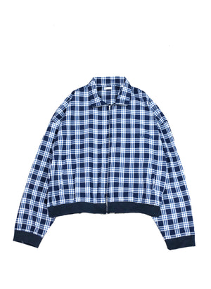 WILLY CHAVARRIA / ZIP JACKET PLAID