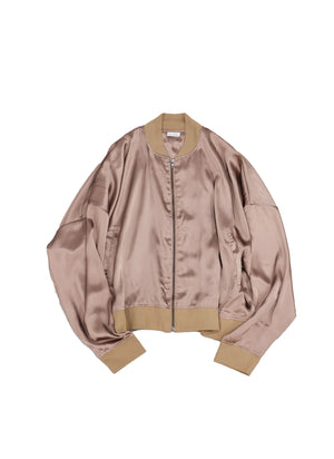 "<span style=""color: #ff2a00;"">Last One</span> WILLY CHAVARRIA / SATIN TRACK JACKET BROWN"