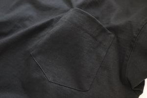 CAMBER (キャンバー) / 302 8OZ MAX WEIGHT POCKET T  LS Tも好評のMAX WEIGHTが半袖で登場です。こちらはBLACK。未だMADE IN USAを誇るCAMBER。ポケット画像。