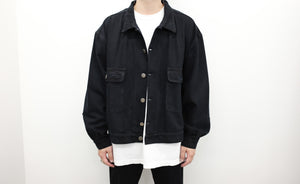 "<span style=""color: #ff2a00;"">Last One&nbsp;</span> WILLY CHAVARRIA / SILVERLAKE JACKET BLACK"