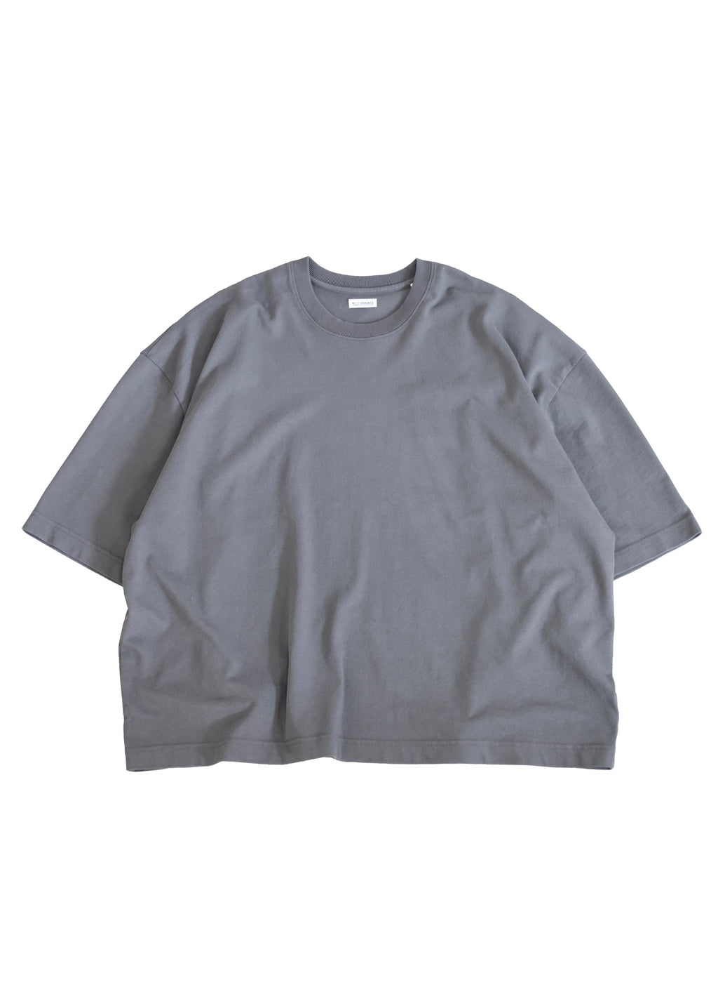 WILLY CHAVARRIA (ウィリーチャバリア) / SS MACHO BUFFLAO TEE CHARCOAL 【WILLY CHAVARRIA】定番であり、間違いないBUFFALO TEE。Peruvian Tanguis cotton jerseyを使用。正面画像。