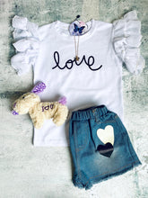 Load image into Gallery viewer, 2pc Love Jeans Set