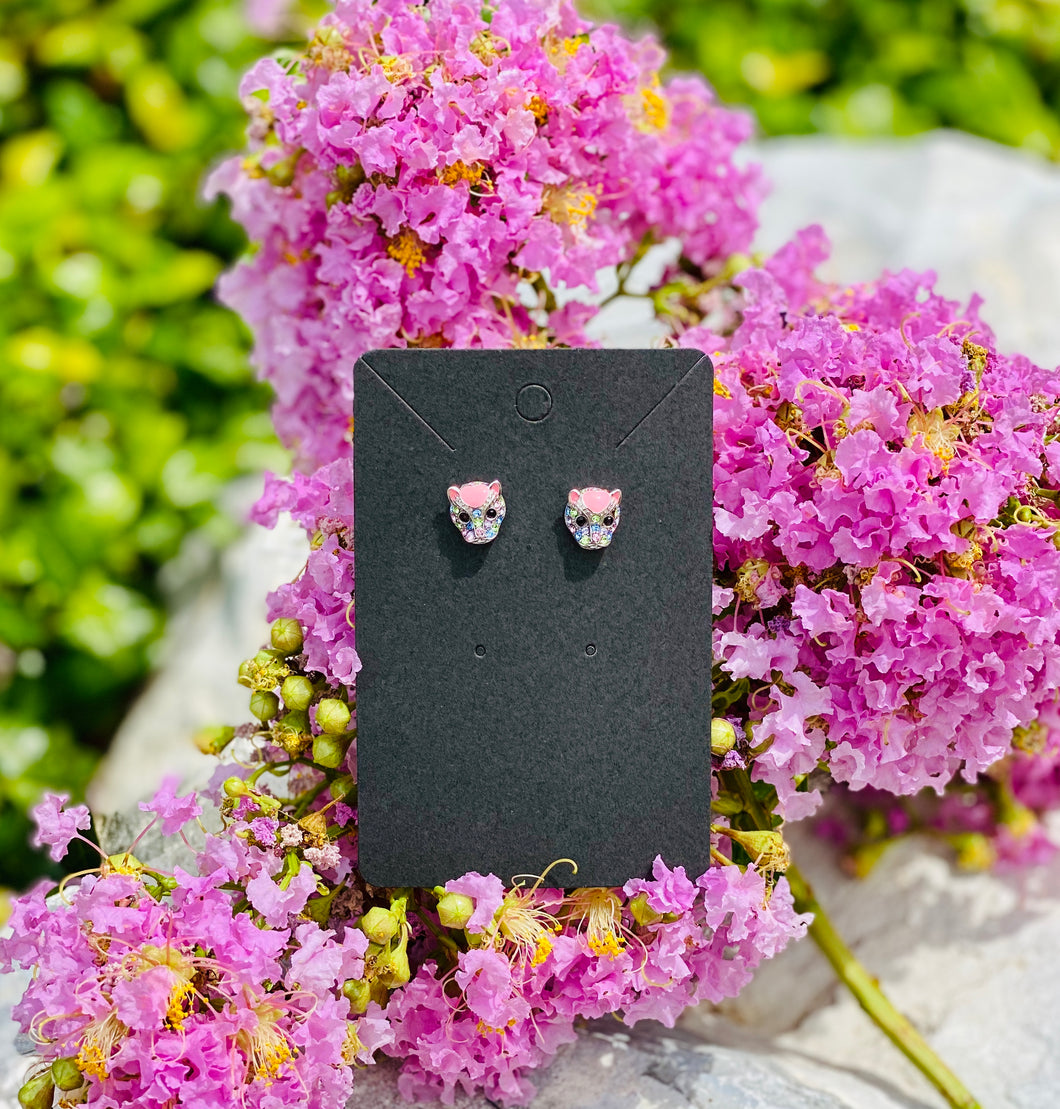 Swarovski Jaguar Stud Earrings
