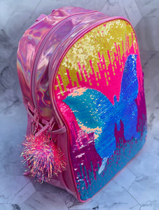 Sequin Butterfly Back to School