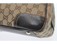 GUCCI GG canvas princy Boston handbag