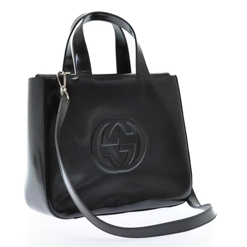 GUCCI 2 way satchel and crossbody  bag