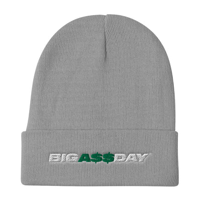 BIGA$$DAY Logo Embroidered Beanie
