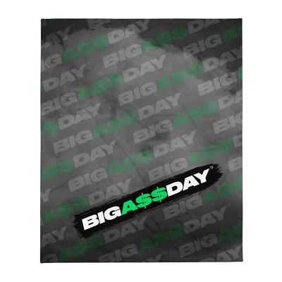 BIGA$$DAY Throw Blanket