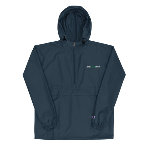 Embroidered BIGA$$DAY Packable Jacket by Champion