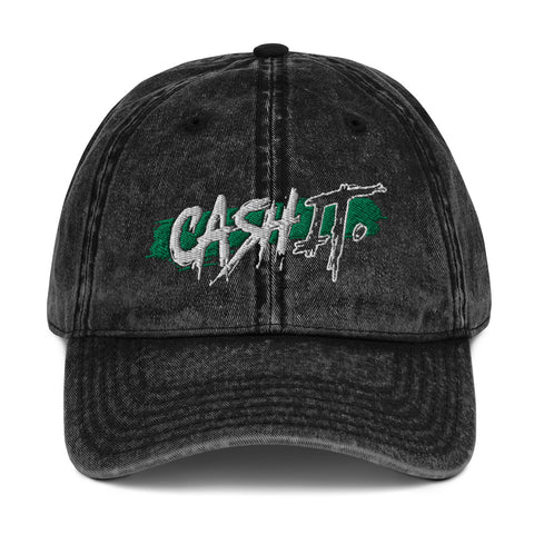 CASH IT x VEGAS JAKE - Vintage Cotton Twill Cap