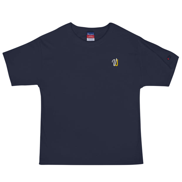 VJ Member's Embroidered Champion T-Shirt