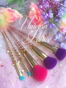 Unicorn Palace Brush Set