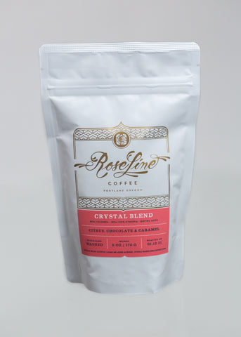 Crystal x Roseline Coffee {Crystal Blend}