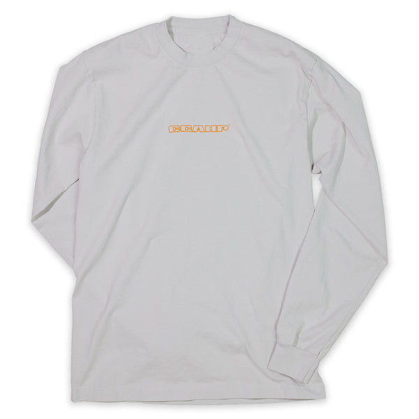 Cement Embroidered Long Sleeve