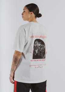 Red Tombstone Tee