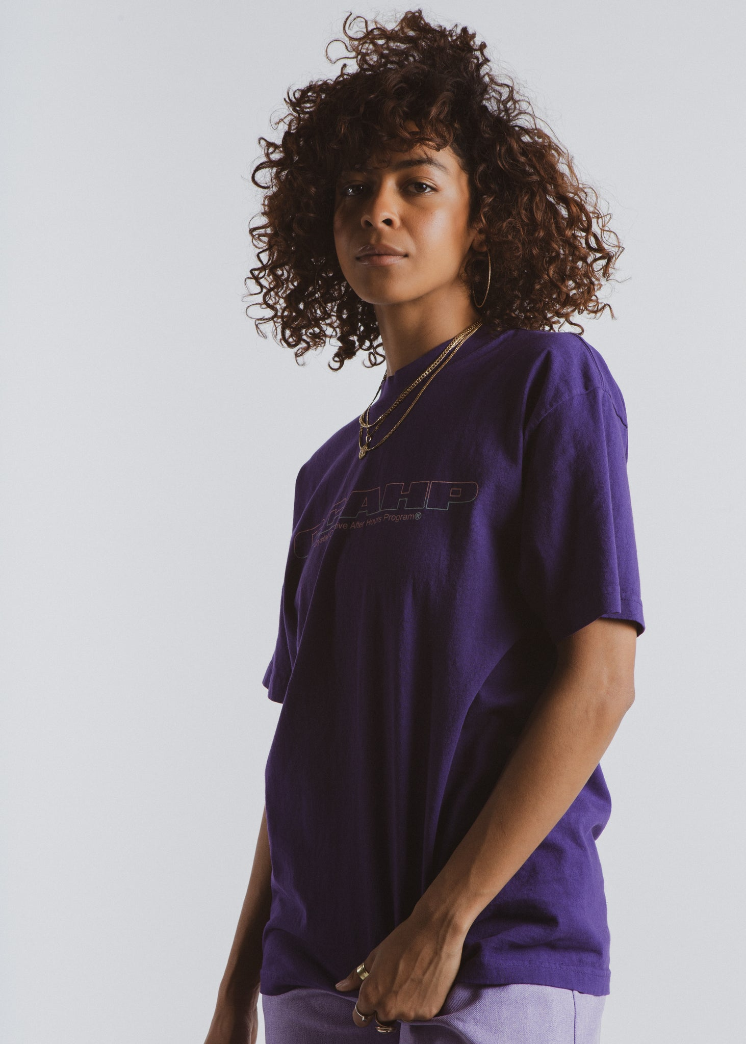 Purple Highlighter Tee