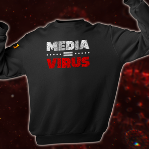 MEDIA = VIRUS Sweater (Unisex) - De Jensen Show