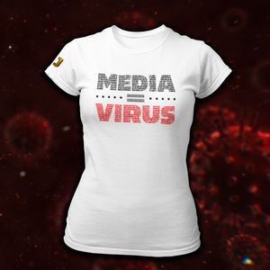 MEDIA = VIRUS T-Shirt (DAMES) - De Jensen Show