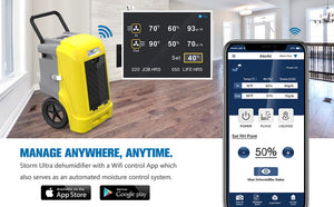 ALORAIR 90 PPD Industrial Dehumidifier with Pump Smart WiFi