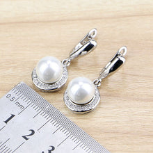 Load image into Gallery viewer, Sterling Silver Jewelry Drop Dangle Earrings