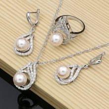 Load image into Gallery viewer, Silver Jewelry For Women Set