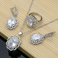 Load image into Gallery viewer, Silver Jewelry Sets