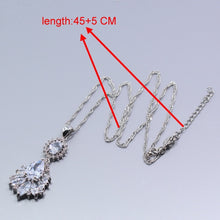 Load image into Gallery viewer, Silver Jewelry Set Charming For Women