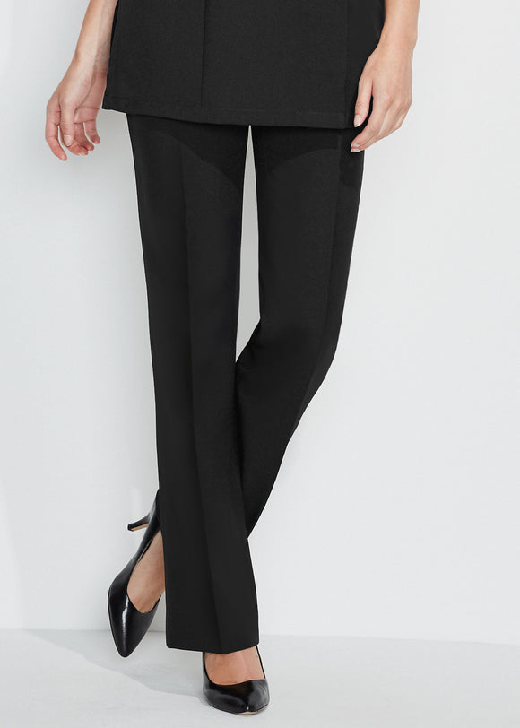 Women's Trousers Essential Bootleg Black