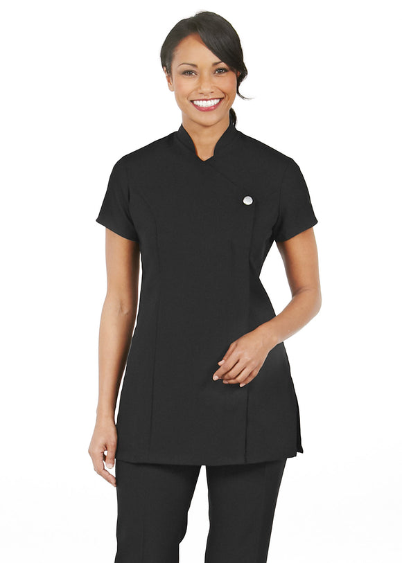 Women's Unique Short Sleeve Black