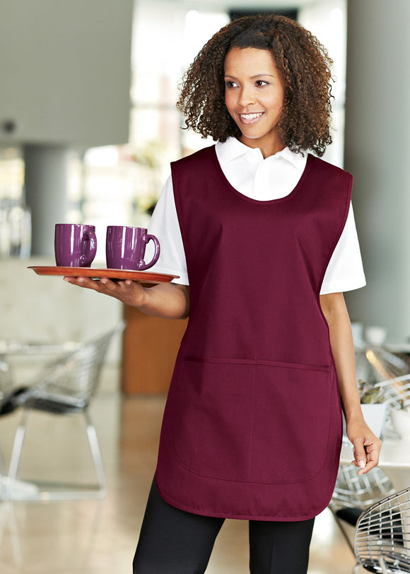 Apron Fully With Back Mulberry