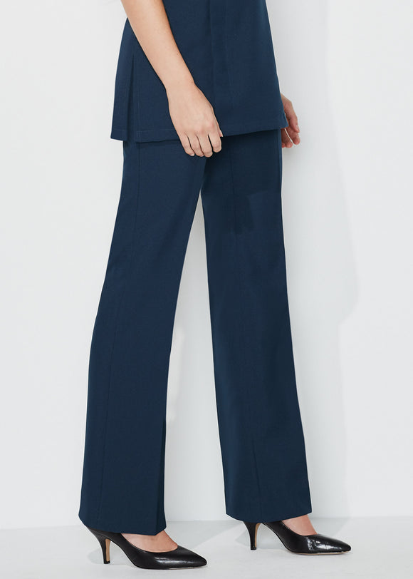 Women's Trousers Essential Bootleg Navy Size 6 (32)