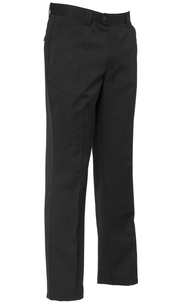 Men's trousers Black Cotton / Pol