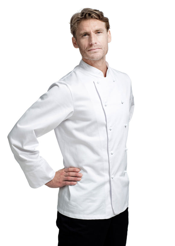 Chef's coat Satin Long Sleeve