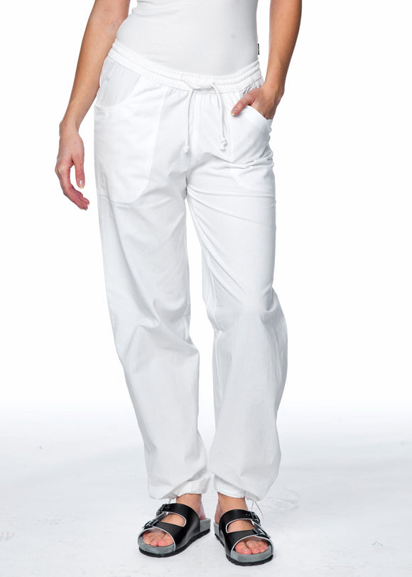 Trousers Unisex Vit