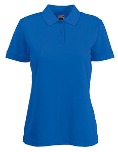 Ladies 65/35 Polo Royal Blue