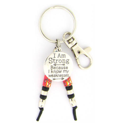 I Am Strong Key Chain
