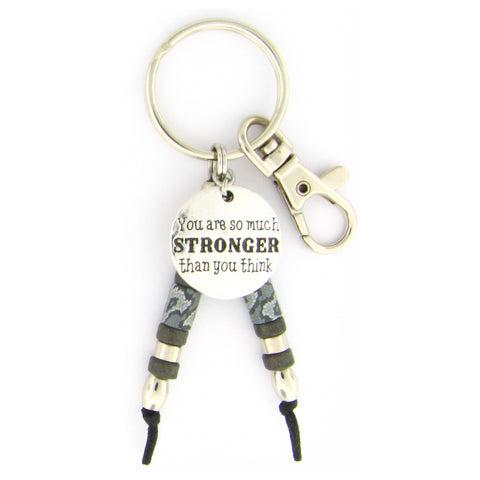 Stronger Than You Think Key Chain