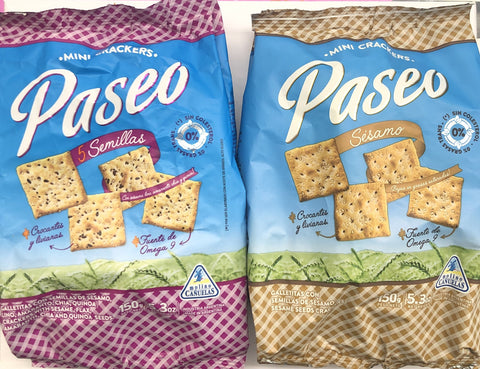 Paseo Mini Crackers