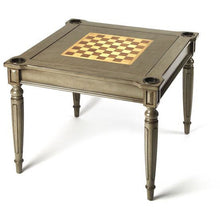 Load image into Gallery viewer, Butler Vincent Silver Satin Multi Game Table 837148