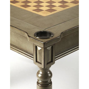 Butler Vincent Silver Satin Multi Game Table 837148