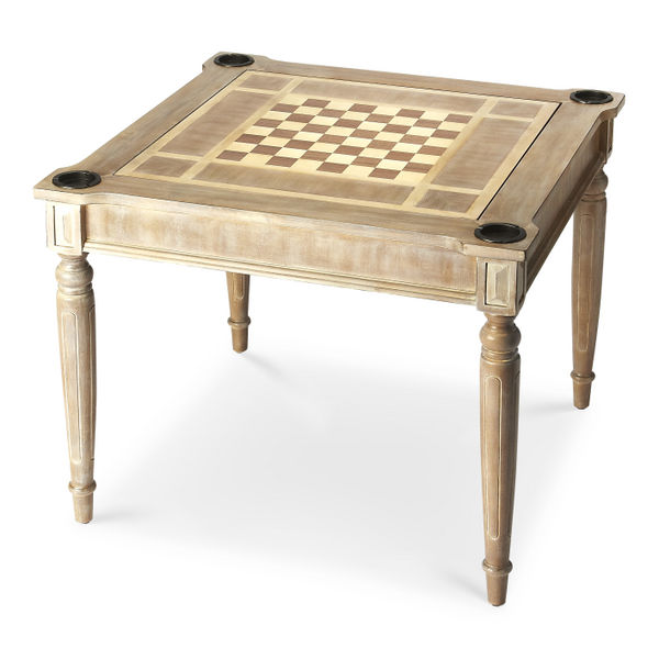 Butler Vincent Driftwood Multi-Game Card Table 837247