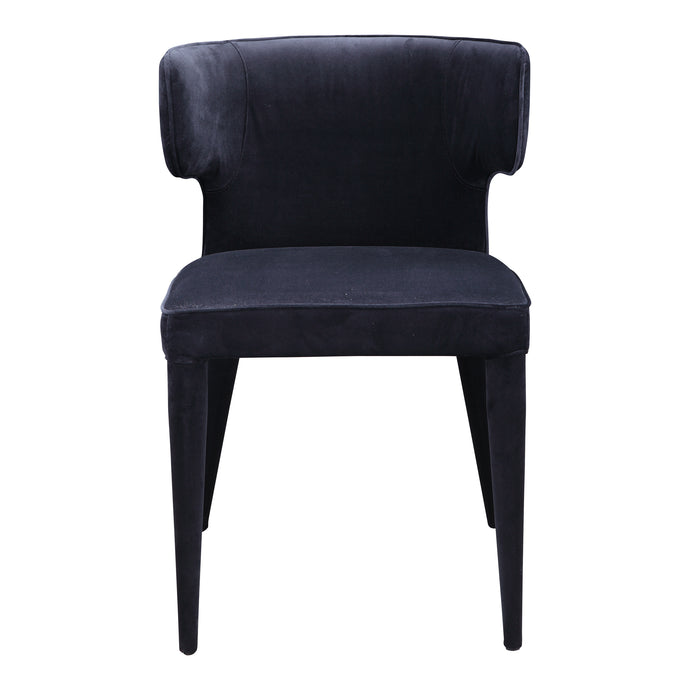 Moes Home Collection Jennaya Dining Chair Black EH-1103-02