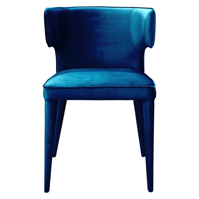 Moes Home Collection Jennaya Dining Chair Blue EH-1103-36