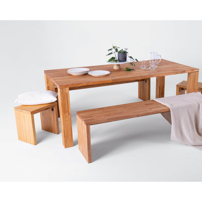 LAX Series Edge Dining Table ID # LAX.36.36.19