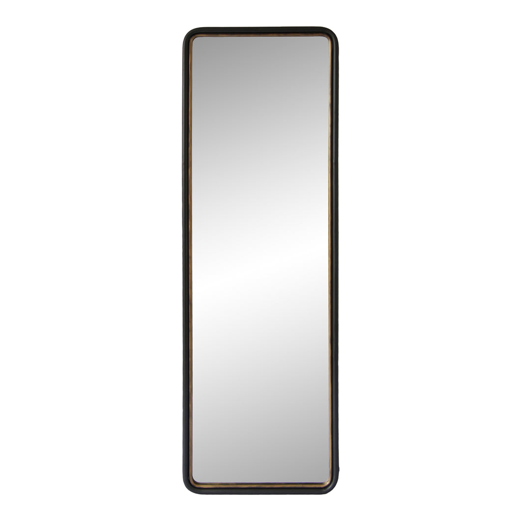 Moe's Home Collection Sax Tall Mirror KK-1005-02 black