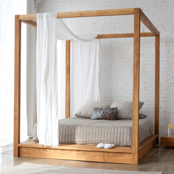 LAX SERIES PCH canopy bed king size or queen size bed sku PCH.99.84.84 PCH 95.74.84